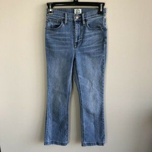 J. Crew Billie Demi Boot Jeans Medium Wash 23P
